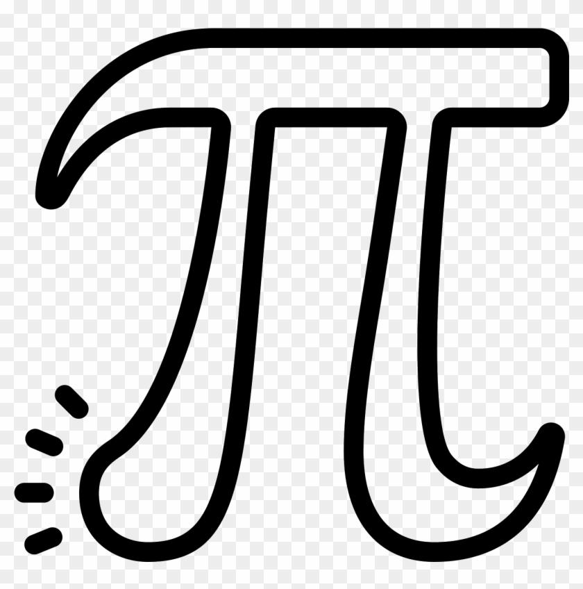 Pi Vector - Icono De Pi Png #1365541