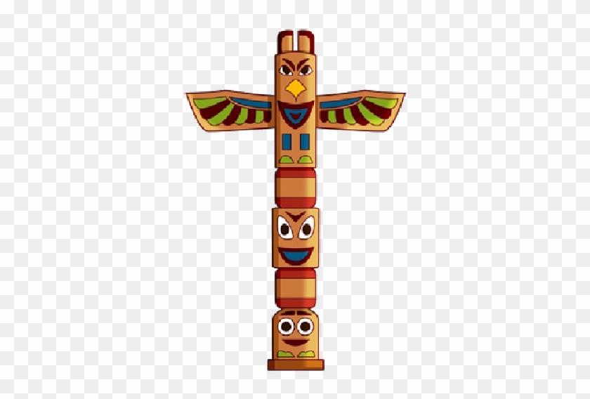 Cowboy Totem Clipart Totem Indien Dessin Couleur Free Transparent Png Clipart Images Download