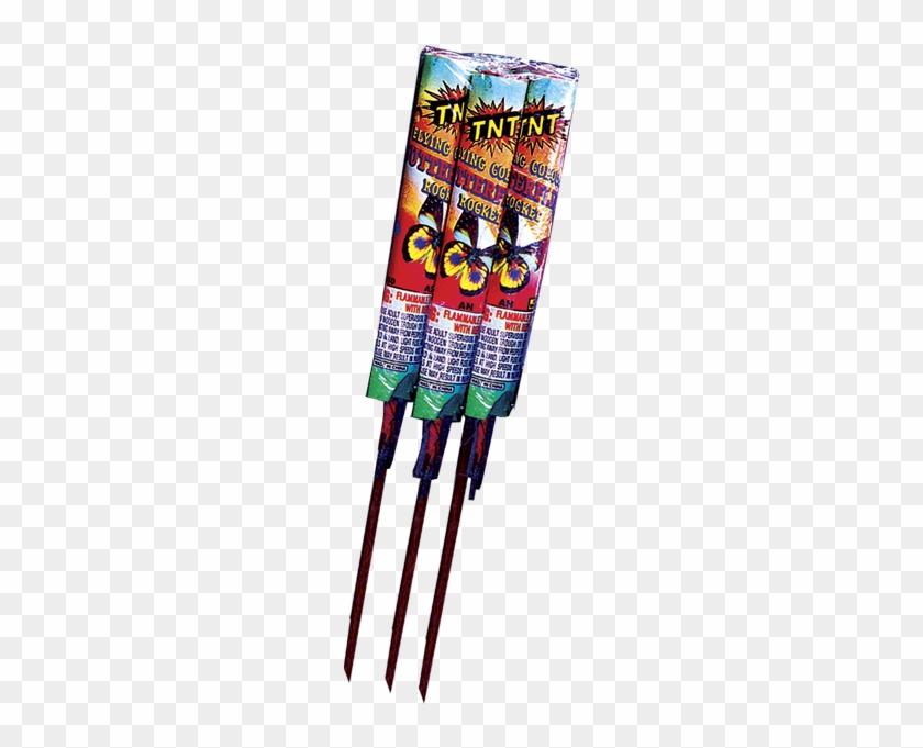 Firework Clipart Bottle Rocket - Super Power Rocket Tnt Fireworks #1369092