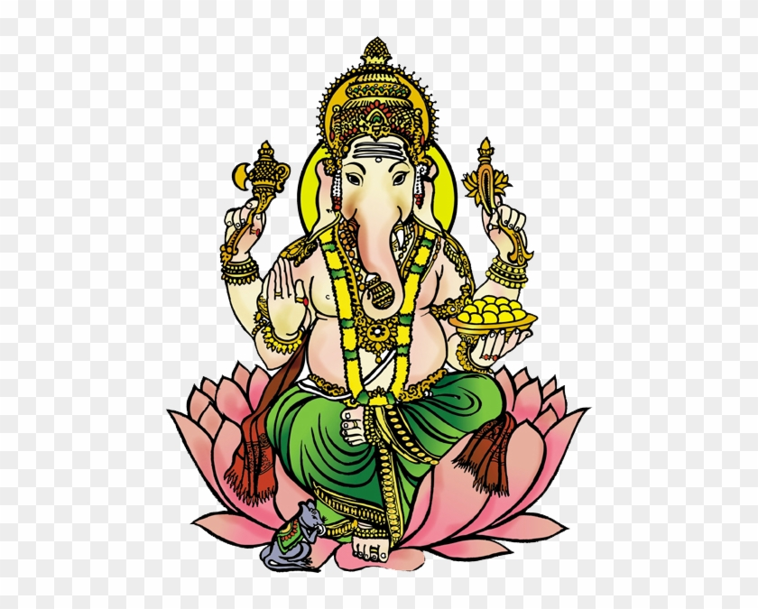 Download Cliparts And Objects In Full Resolution Please - Clipart Of Ganesh Ji #1370405