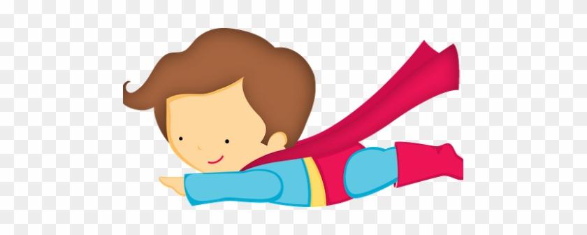 Imágenes De Niños Super Heroes - Super Man Cute Png #1371834