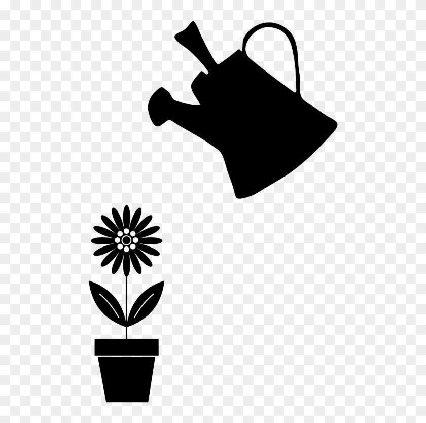 Medium Image - Png Gif Watering Plants #1373094