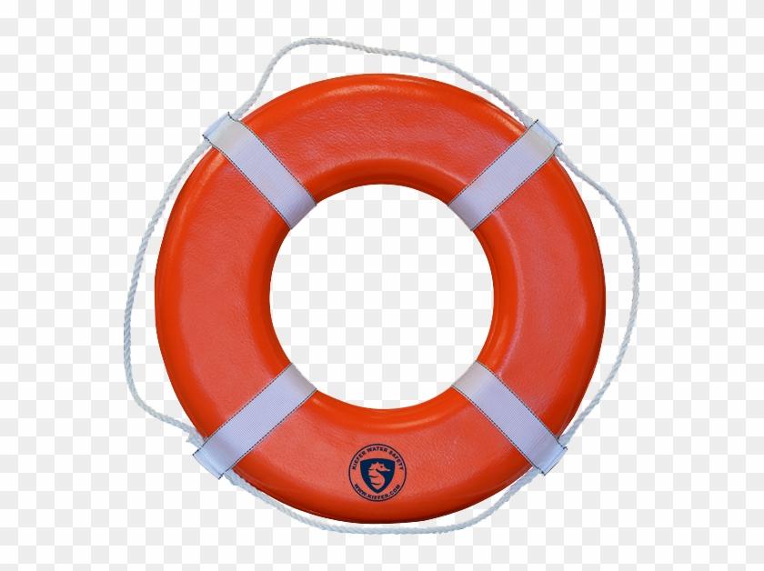Lifeguard Buoy - Pink Life Ring #1373631