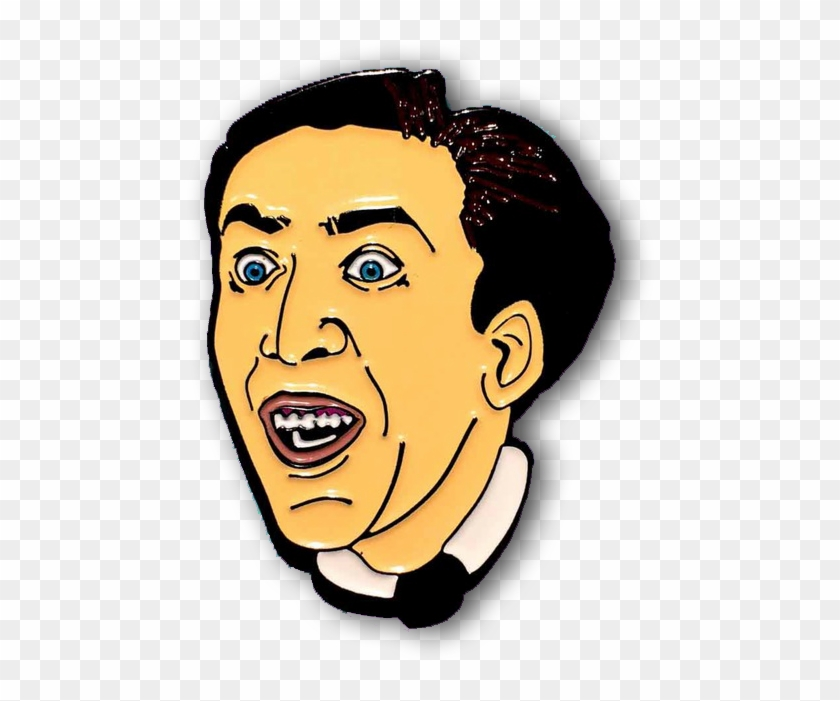 Wear This Man's Beautiful Screaming Face On Your Clothes - Nicolas Cage #1373871