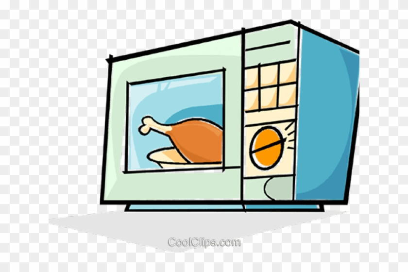 Oven Clipart Transparent - Microwave Oven Cartoon #1374254
