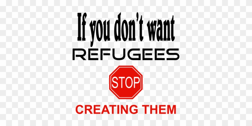 The Refugees Computer Icons Drawing Stop Simpin-why - If You Don T Want Refugees Stop Creating Them #1374469