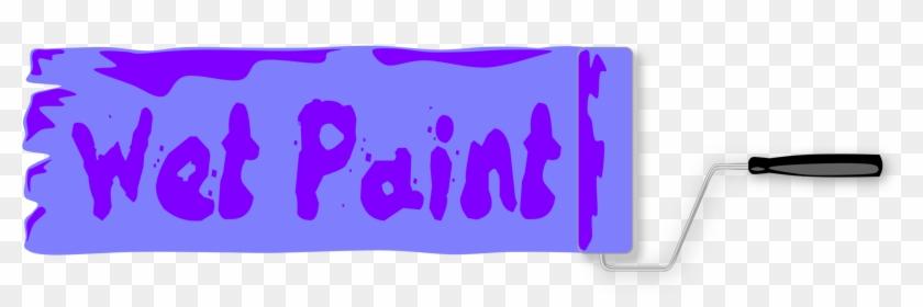 Logo Brand Paint Pdf Color - Wet Paint Sign #1374749