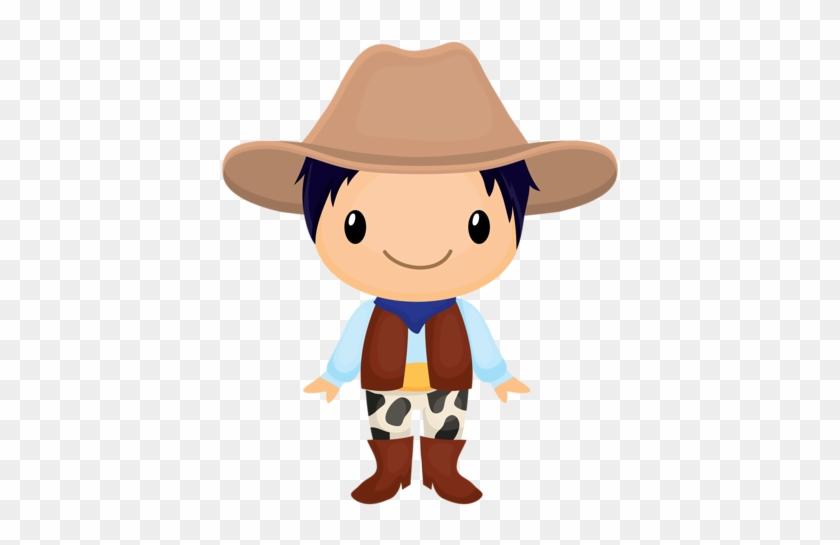 Cowboy E Cowgirl Imagination Art, Stone Painting, Kid - Vaquero Y Vaquera Dibujo #1375595