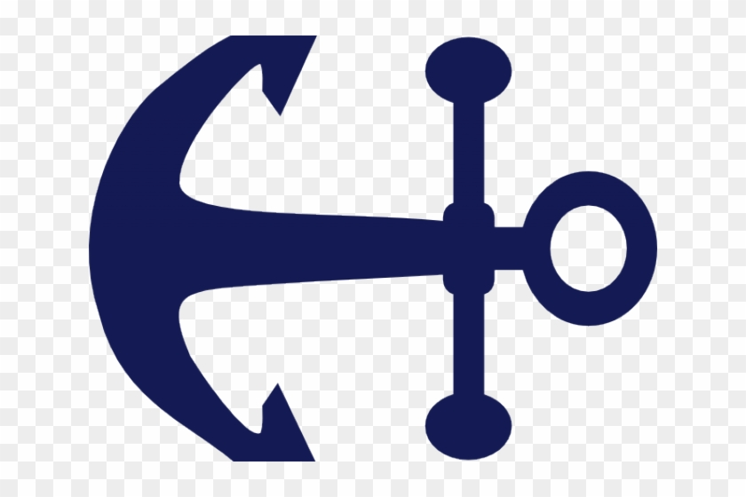 Whale Clipart Nautical - Navy Anchor Blue Logo #1376403