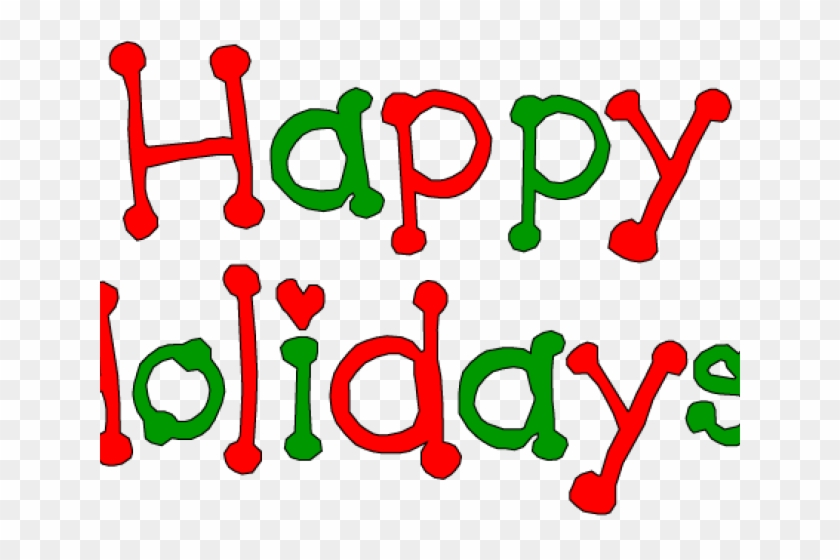 Holidays Clipart Holiday Season - Happy Holidays Email Signatures #1376836