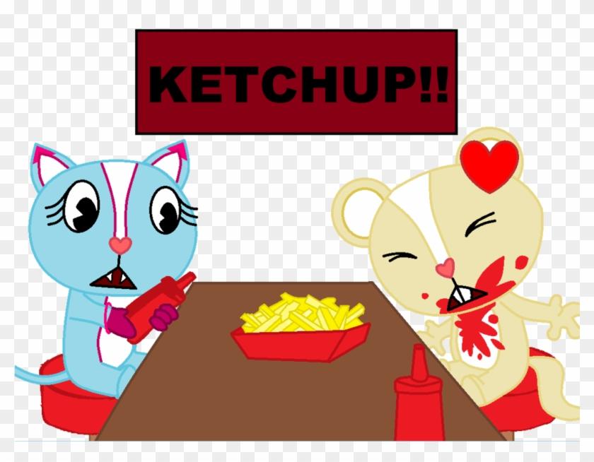 Ketchup Png Spill - Htf Base #1376978