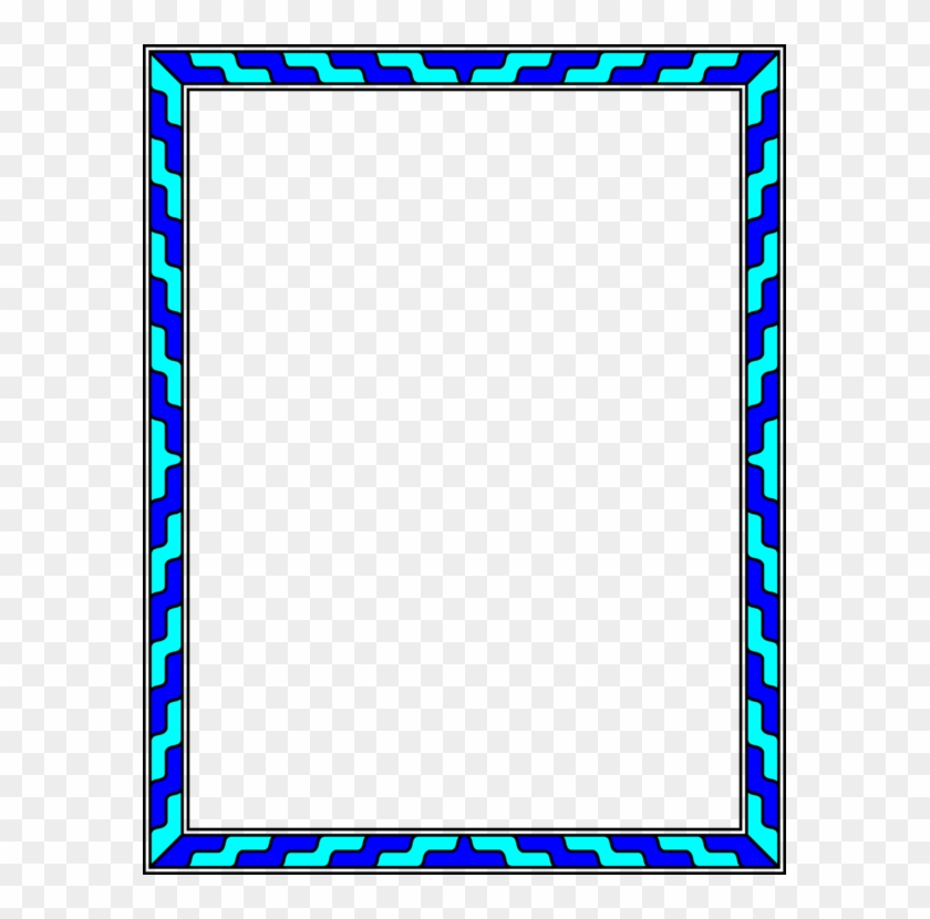 All Photo Png Clipart - Blue Colour's Photos Frames #1378522