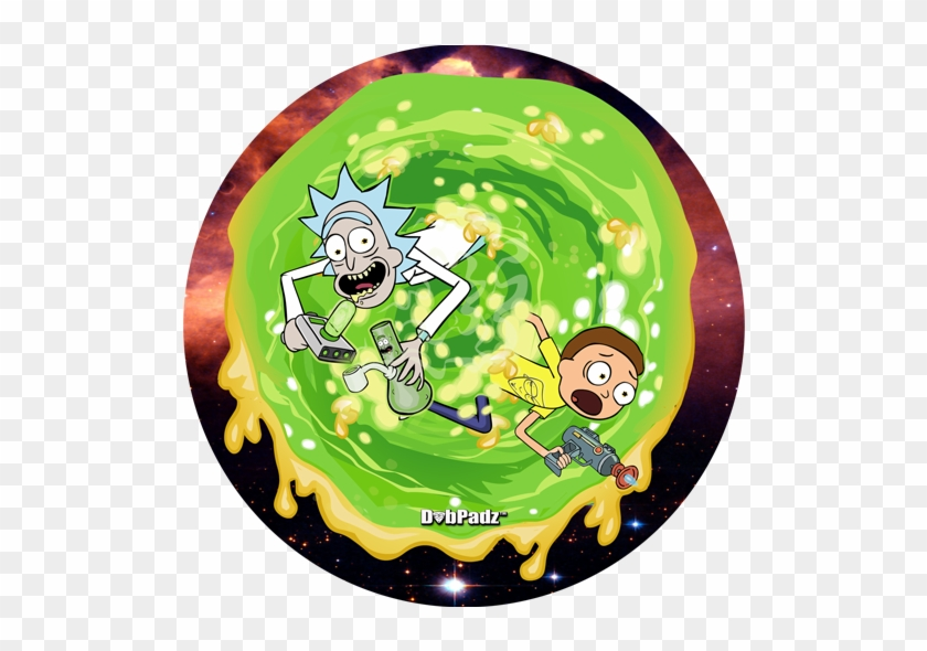 Dab Dabpadz Wax - Rick And Morty Circle #1378813