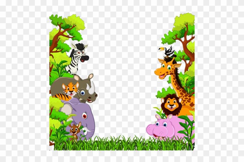 Фотки Jungle Cartoon, Baby Cartoon, Jungle Clipart, - Animal Forest Cartoon Background #1379246
