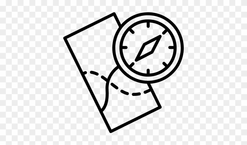 Compass, Marine, Oceanic, Maritime, Sea, Nautical, - Alarm Clock Icon #1380422