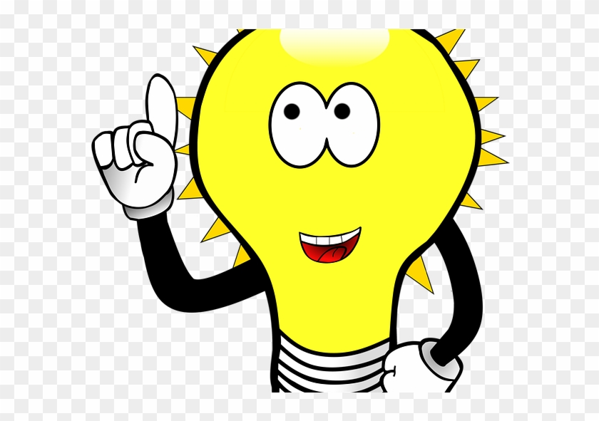 Idea Clipart Invention - Did You Know Light Bulb #1382158