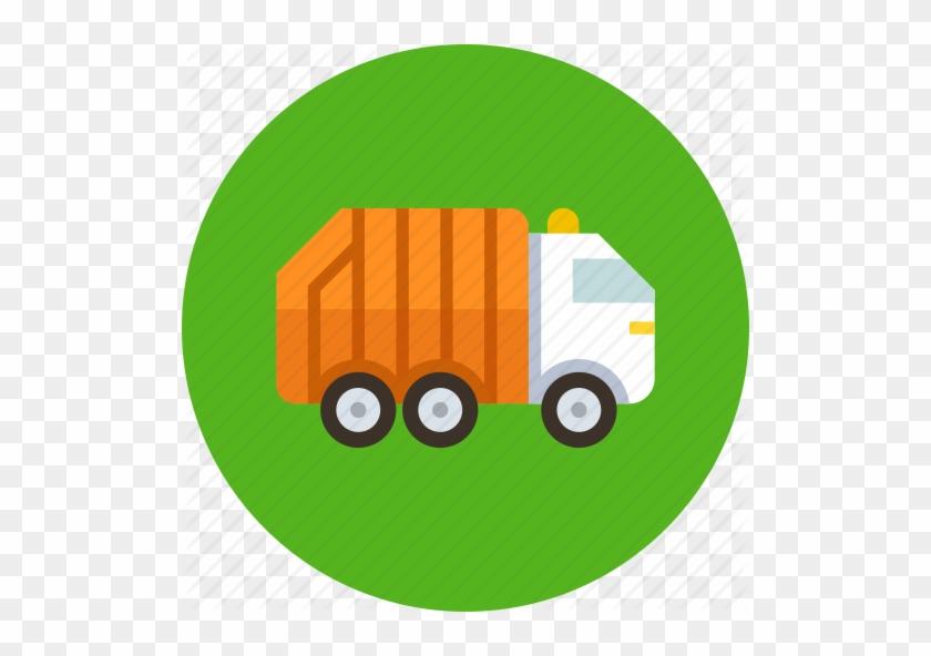 Car Icons Garbage - Garbage Truck Ico #1382290