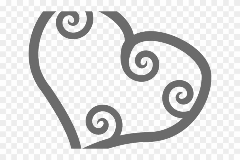 Love Hearts Shower Curtain #1382978