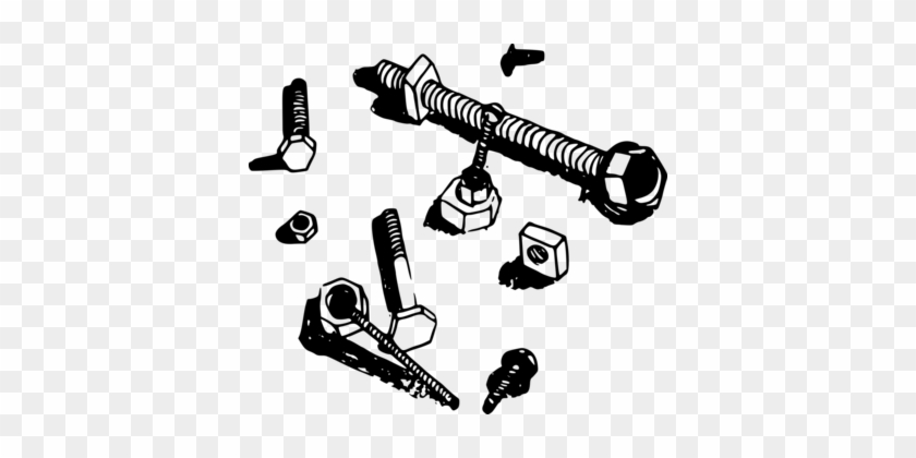 Nut Bolt Screw Computer Icons Astm A490 - Pile Of Nuts And