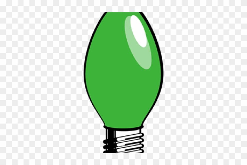 Light Bulb Clipart Lamp - Christmas Tree Light Clipart #1384017