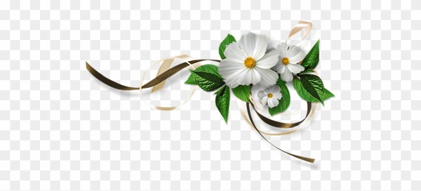 Gifs, Belles Images, Tube, Clip Art, Profile, Wedding - Wedding Flower Clipart Png #1384944