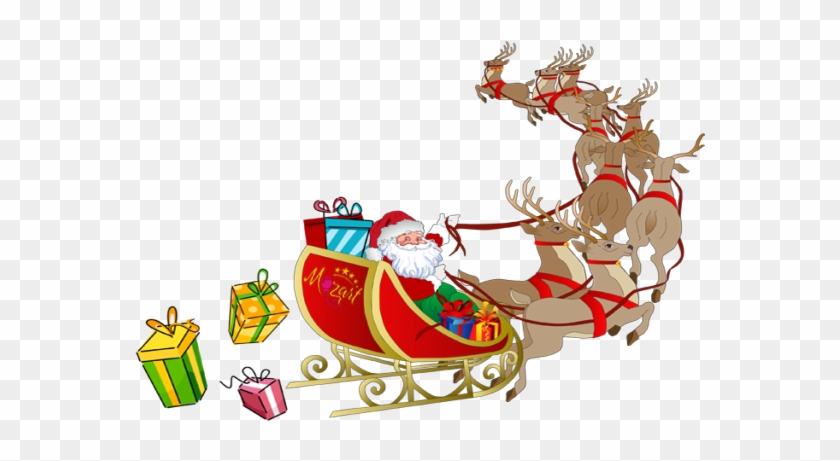 Twas The Night Before Christmas Clip Art #1386227
