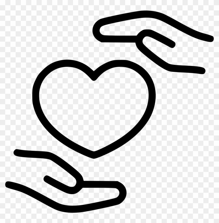 Health Care Medicine Heart Hand Hospital Comments - Heart Hand Icon Free #1386422