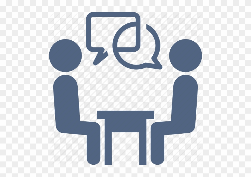 Interview Icon - Google Search - One On One Meeting Icon #215425