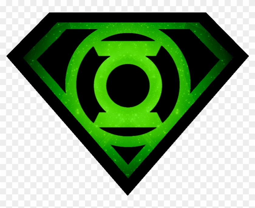 More Like Superman Icon By Jeremymallin - Superman Green Lantern Logo #215556