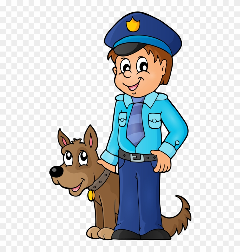 Personnages, Illustration, Individu, Personne, Gens - Police Officer On Patrol Coloring Book #215601