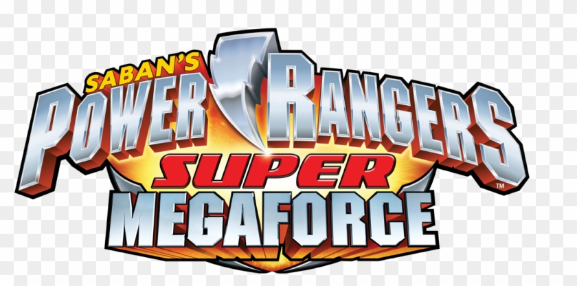 Power Rangers Super Mega Force - Power Rangers Super Megaforce Logo #215863