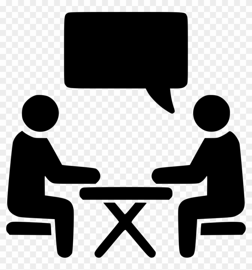 Interview Chat Conversation Job Hire Comments - Interview Icon Free #215883