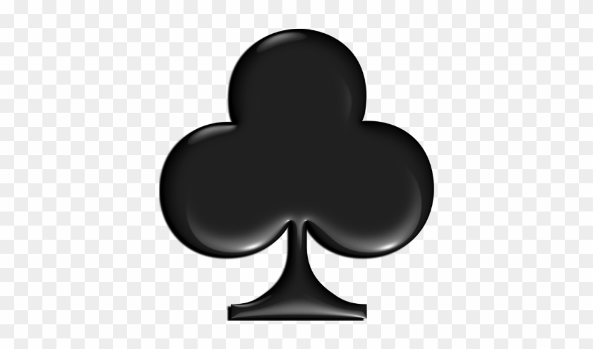 To Send A Quick Note To Say Thank You For Helping To - Playing Cards Club Symbol #215997