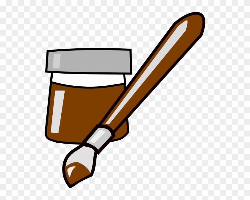 Paint Clip Art - Paint Brush Clip Art #216440
