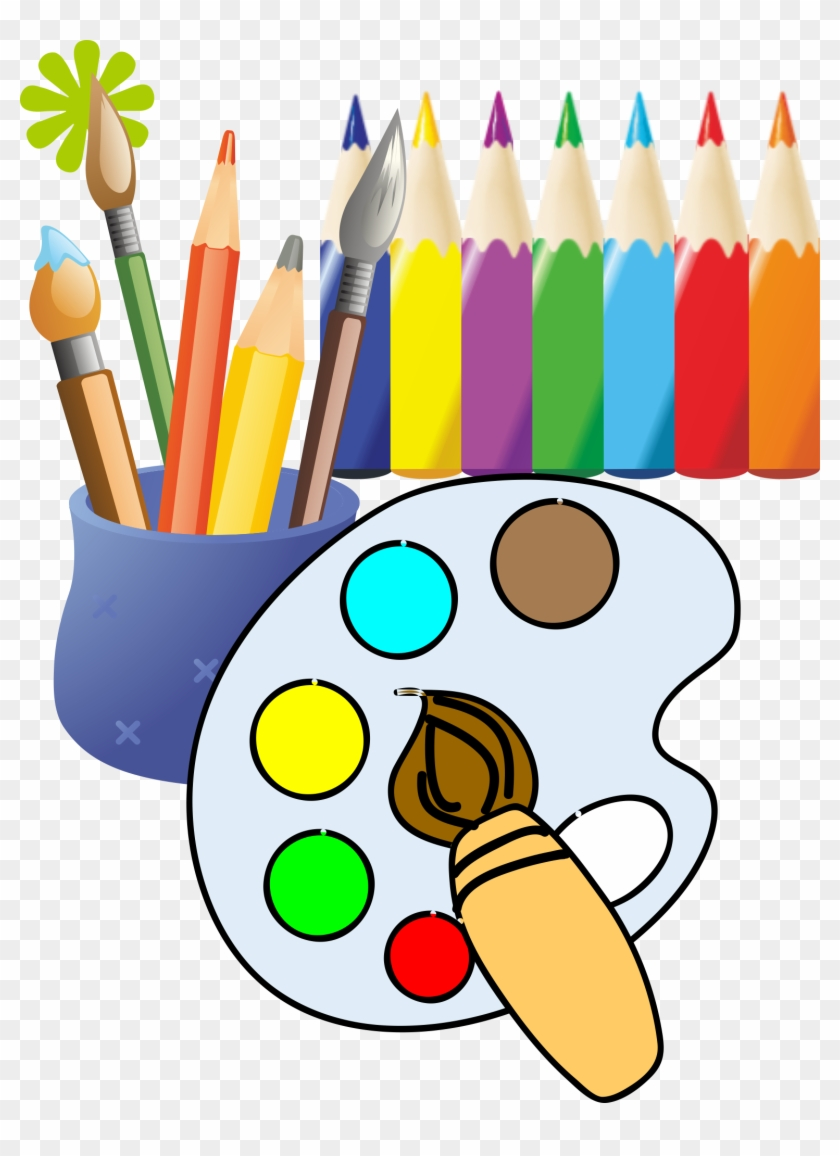 Paintbrush Painting Drawing Clip Art - Drawing #216542