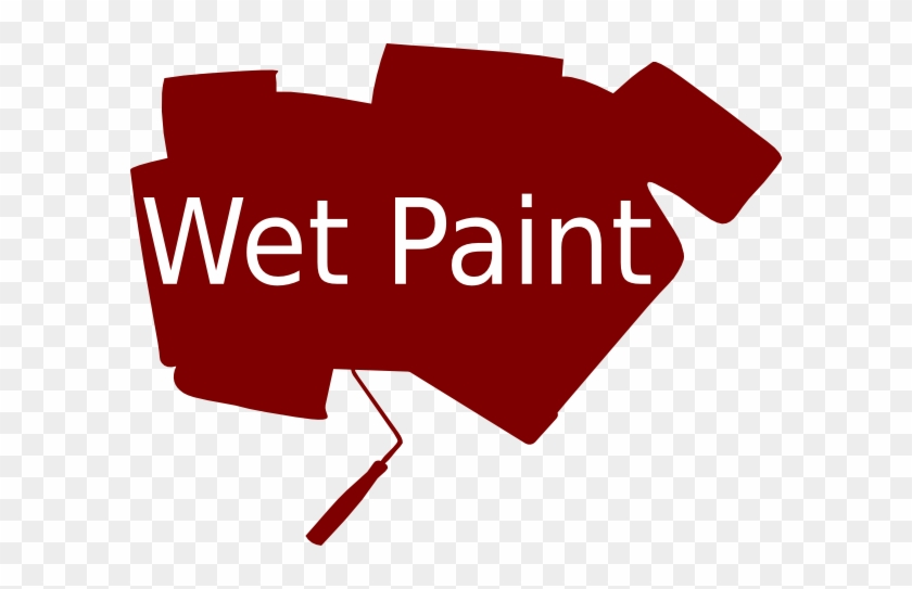 Wet Paint Clip Art At Clker - White County Medical Center #216587