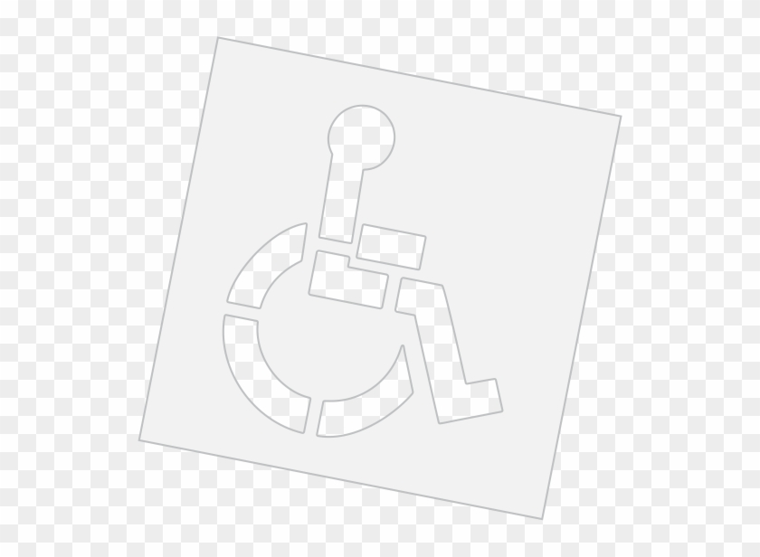 Image Is Not Available - Rae Stl-108-3015 Pavement Stencil, 15 #217337