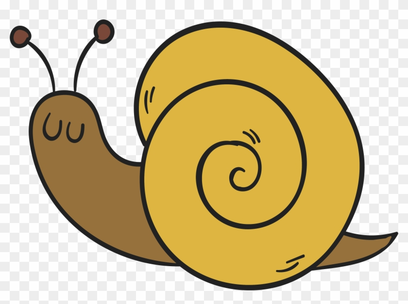 Snail Drawing Clip Art - Painting #217381