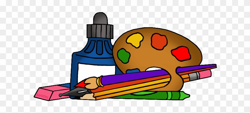Art Supplies - School Supplies Clipart Png #217790
