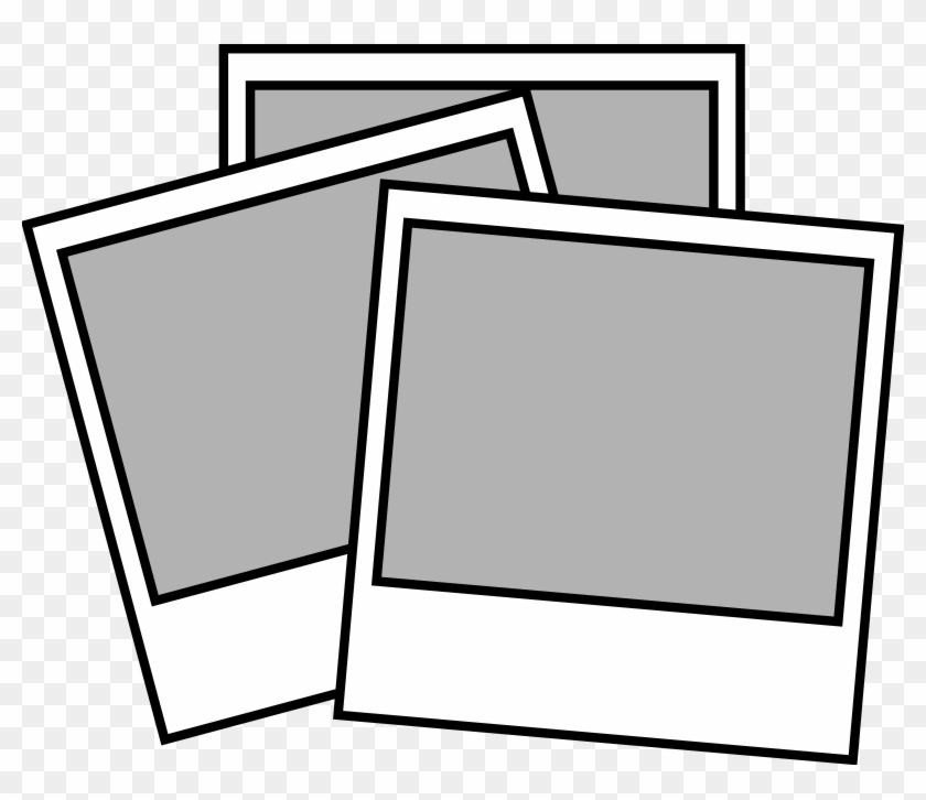 Drawing Clipart Transparent - Polaroid Clipart #217986