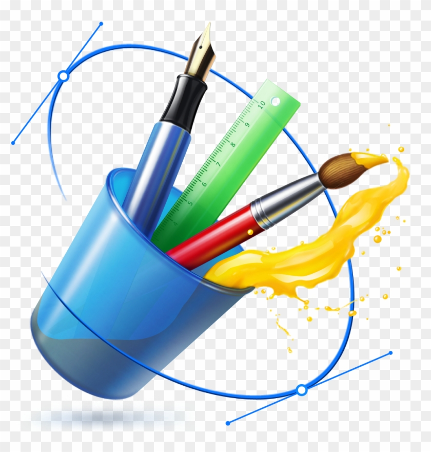 Drawing Brush Logo Png Graphics Designing Software Icon Free Transparent Png Clipart Images Download