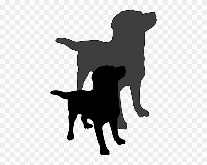 Winsome Design Shadow Clipart A Dog And His Clip Art - Shadow Of A Dog #218118