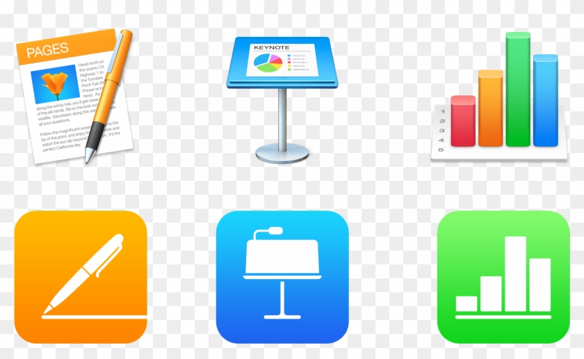 Apple Updates Iwork For Mac And Ios With Office Compatibility - Apple Iwork #218170