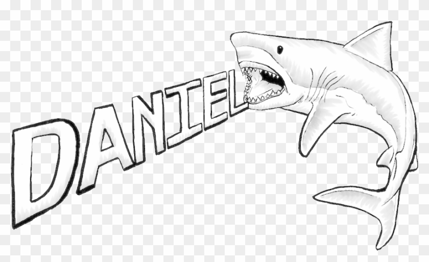 Great White Shark Drawing - Great White Shark Drawings #218254