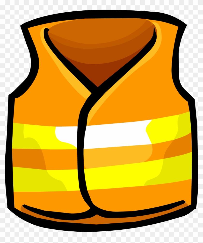 Safety Vest - Construction Vest Clipart #218435
