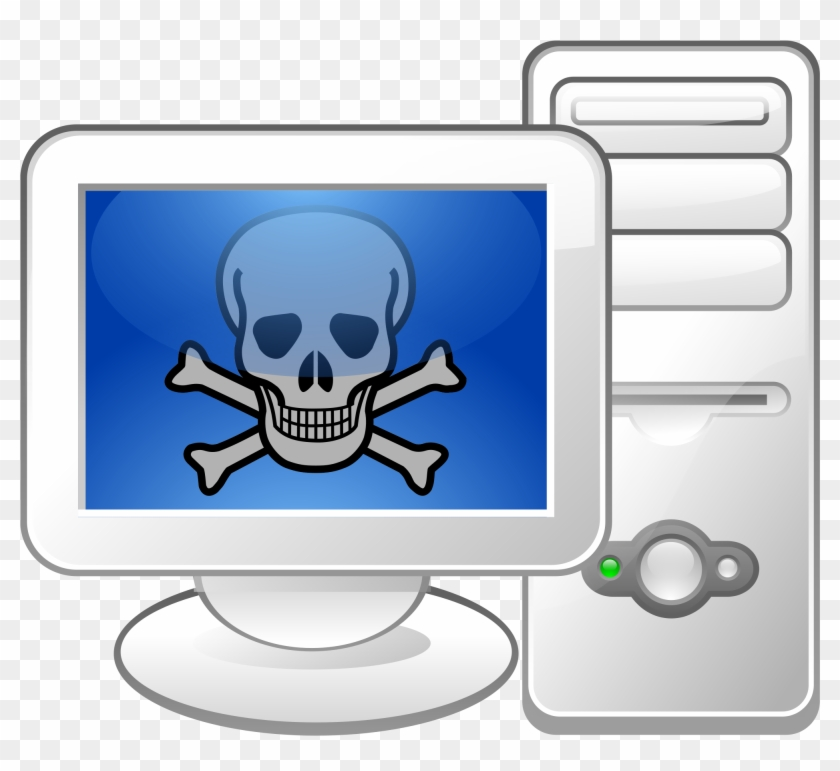 File - Malware Logo - Svg - Taco Computer #218436