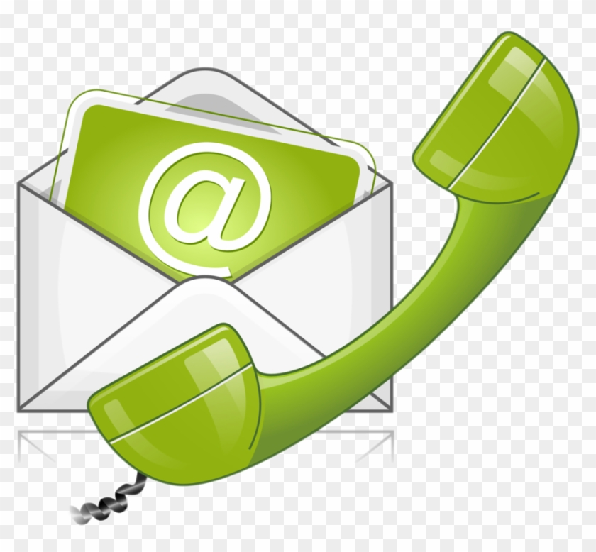 Contact Clipart - Phone And Email Clipart - Free Transparent PNG Clipart  Images Download