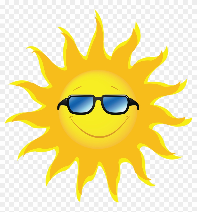 Sun Png Images, Real - Sun With Sunglasses Png #218478
