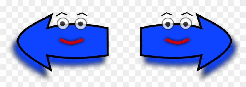 Clip Art Details - Arrows Pointing Left And Right #218527