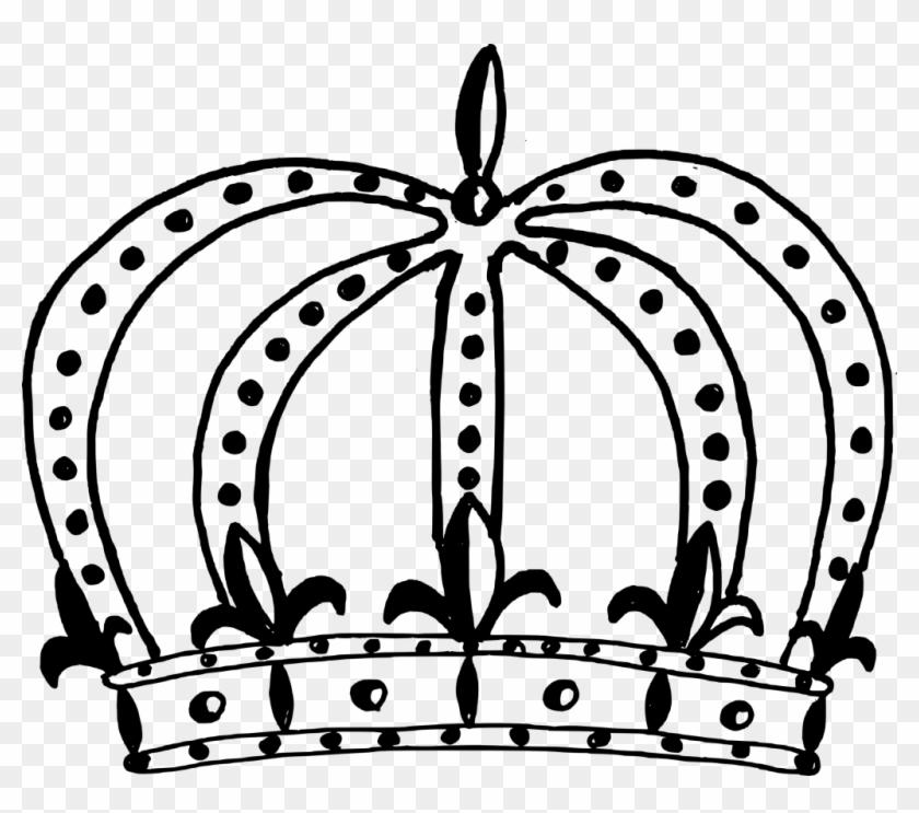 10 Black Crown - Universal Public School Logo #218534